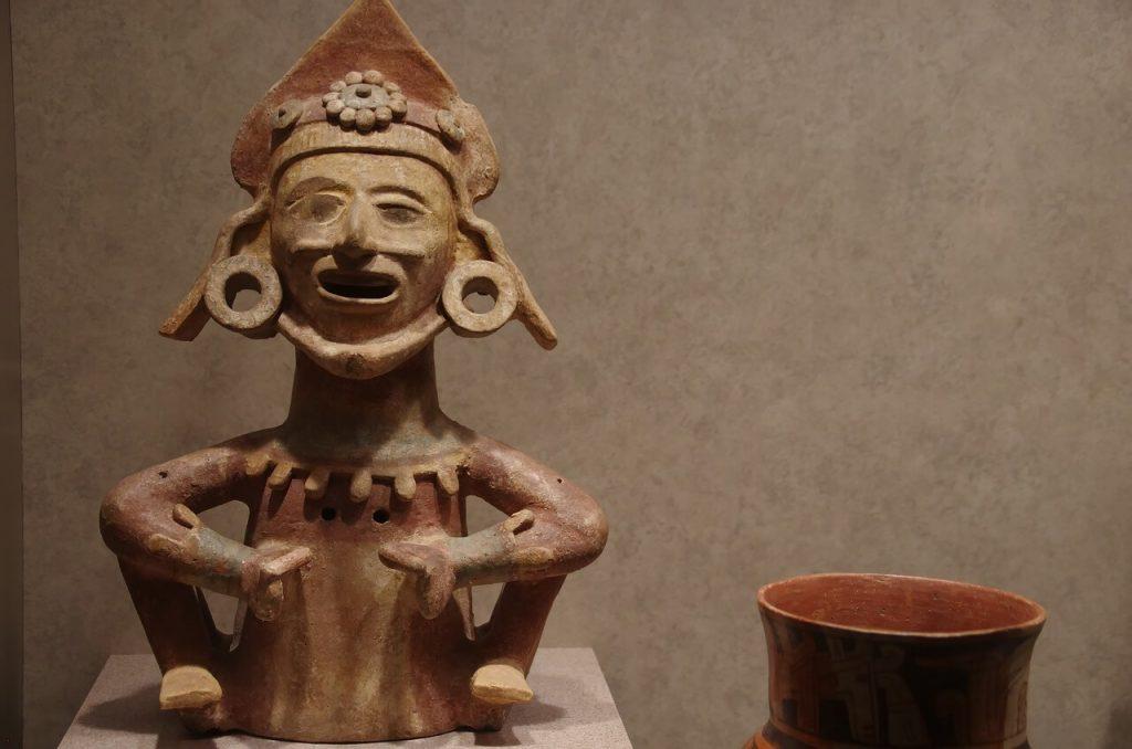 escultura Mixteca