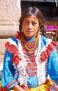 vestimenta de Los Mazahuas