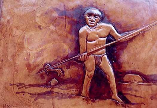 indigena Barí cazando