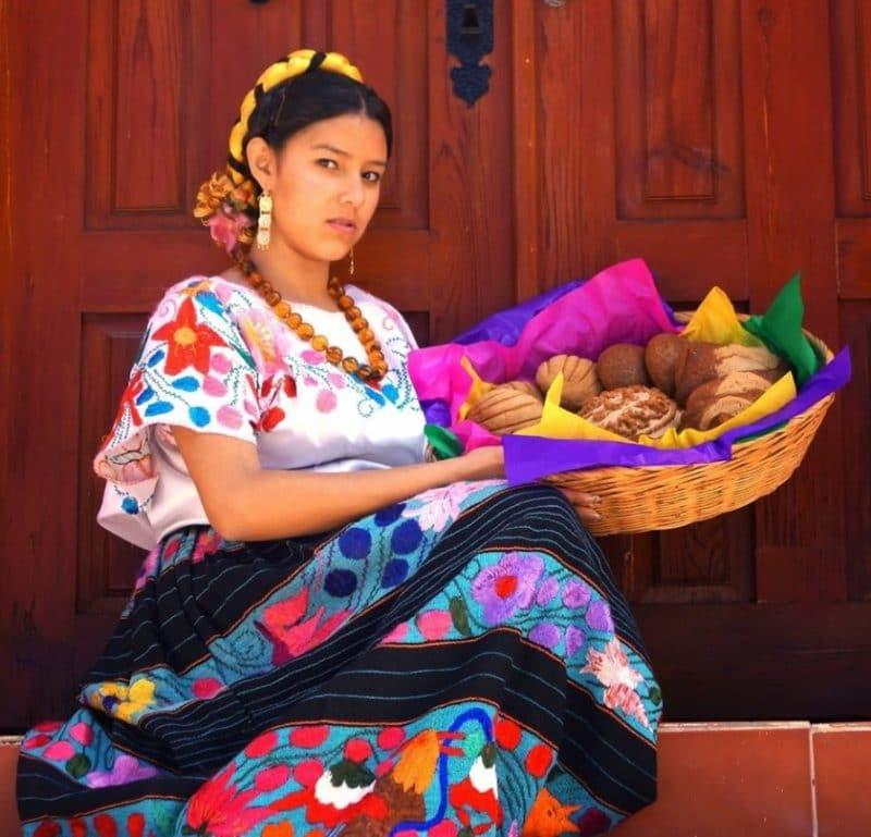 mujer nahua actual
