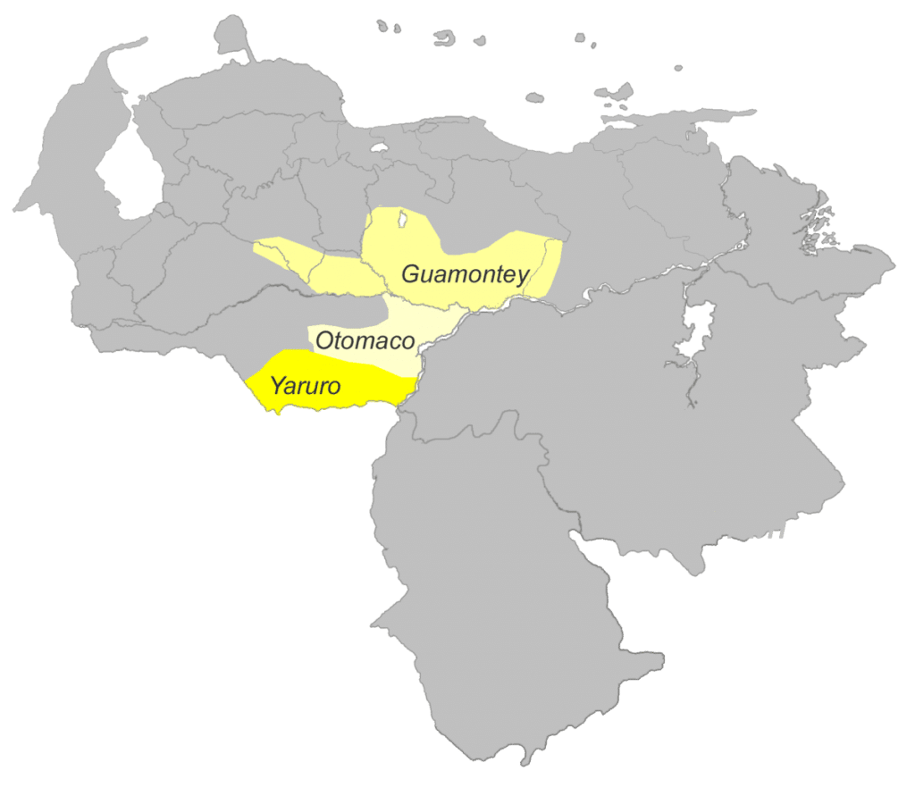 ubicacion del pueblo pume