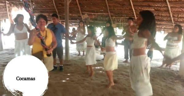 Cocamas baile
