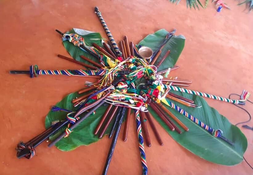 Culturales de la Etnia Cañamomo