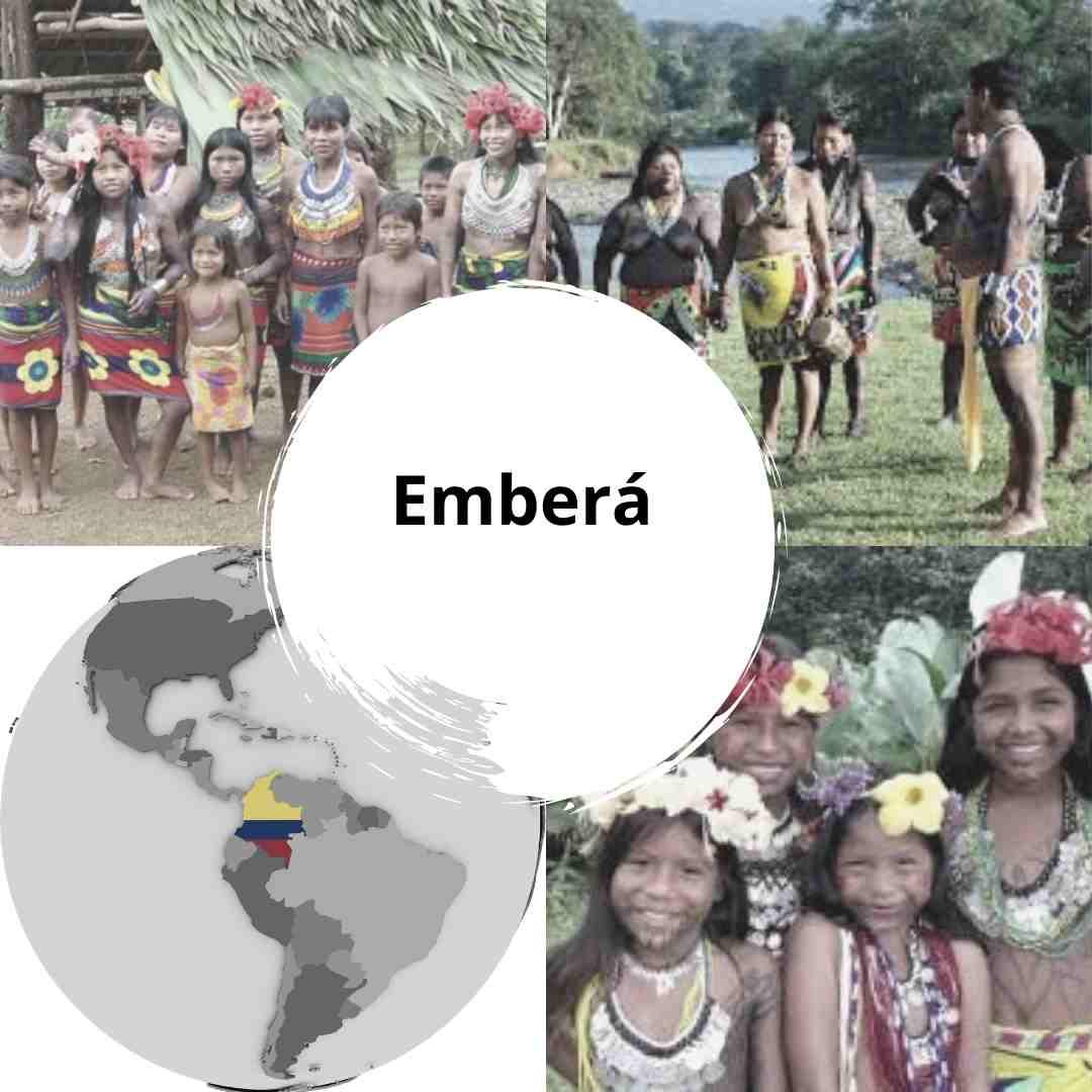 Etnia Emberá Chamí