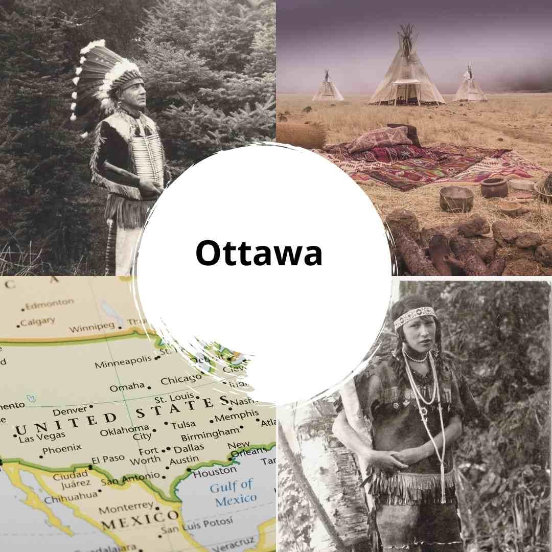 Ottawa nativos americanos