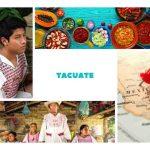 Tacuate | Vivienda, lengua, ubicación, gastronomía y costumbres