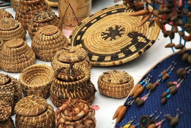arte KUMIAI actividad artesanal